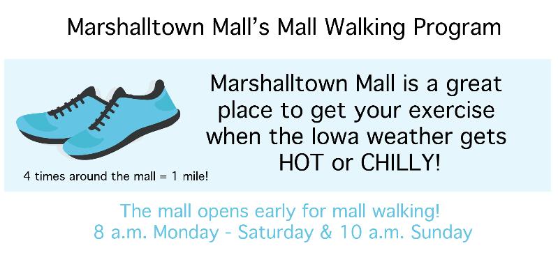 marshalltown mall walkers program