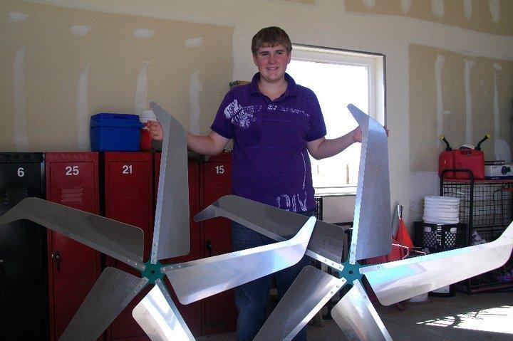 Jacob Harmon Wind Turbine Business