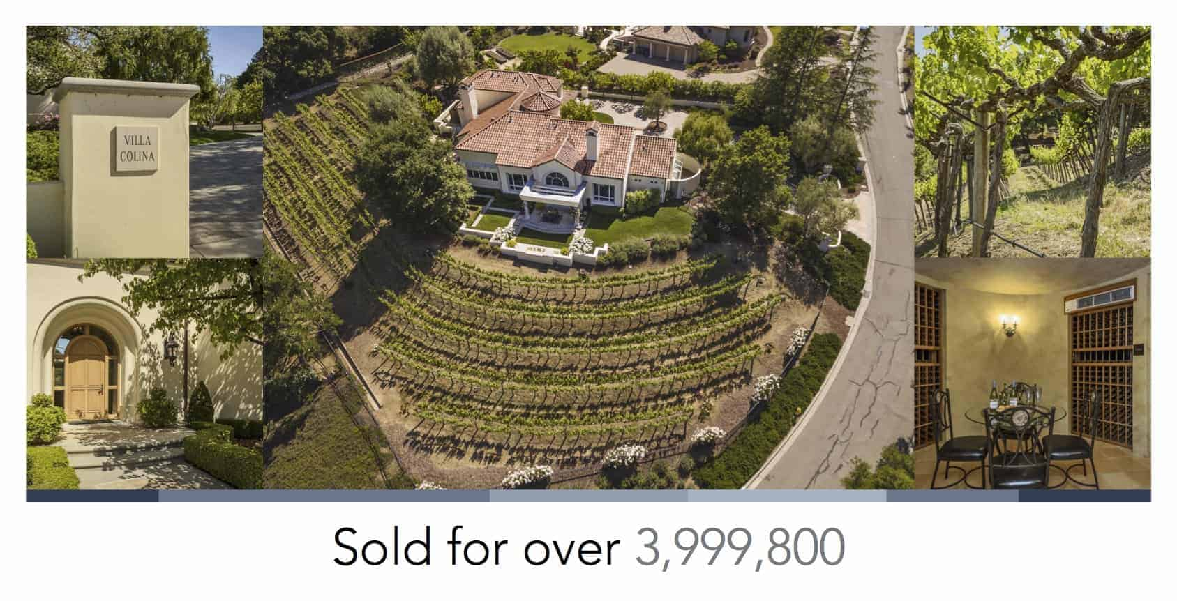 "Image of a real estate""just sold"" postcard."