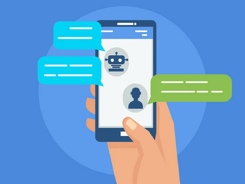 Chatbot marketing graphic