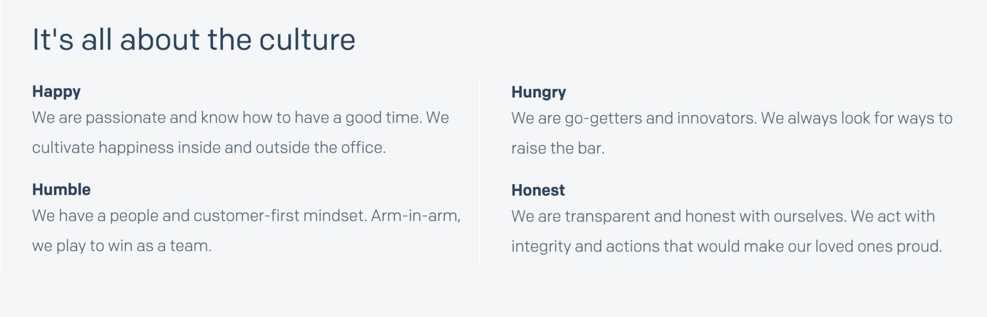 SendGrid culture core values