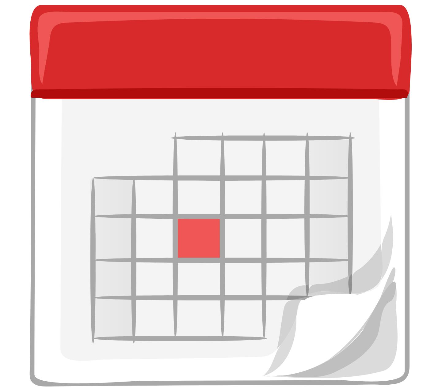 Image of a calendar to run a monthly employee referral bonus raffle