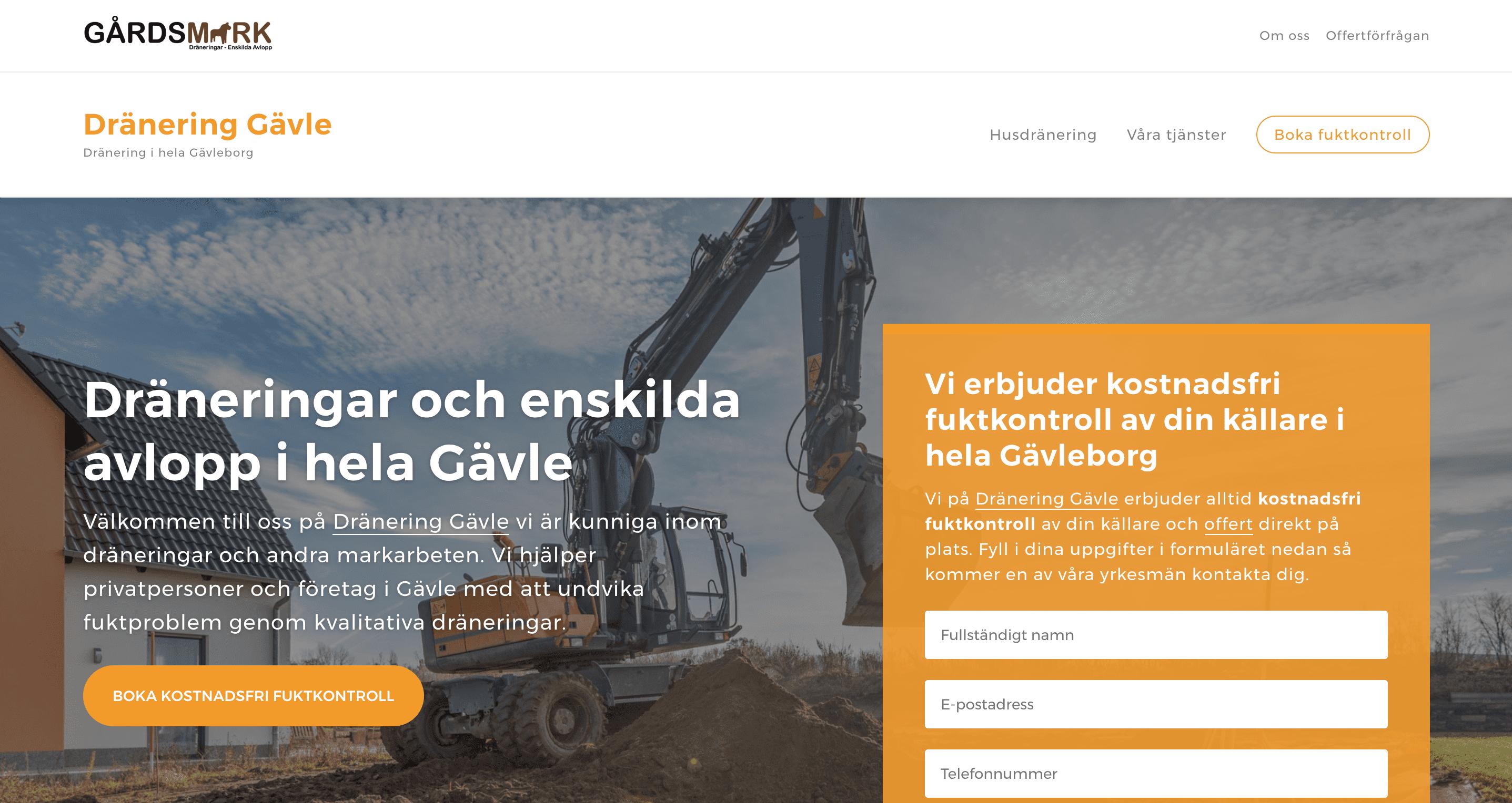 Dränering Gävle