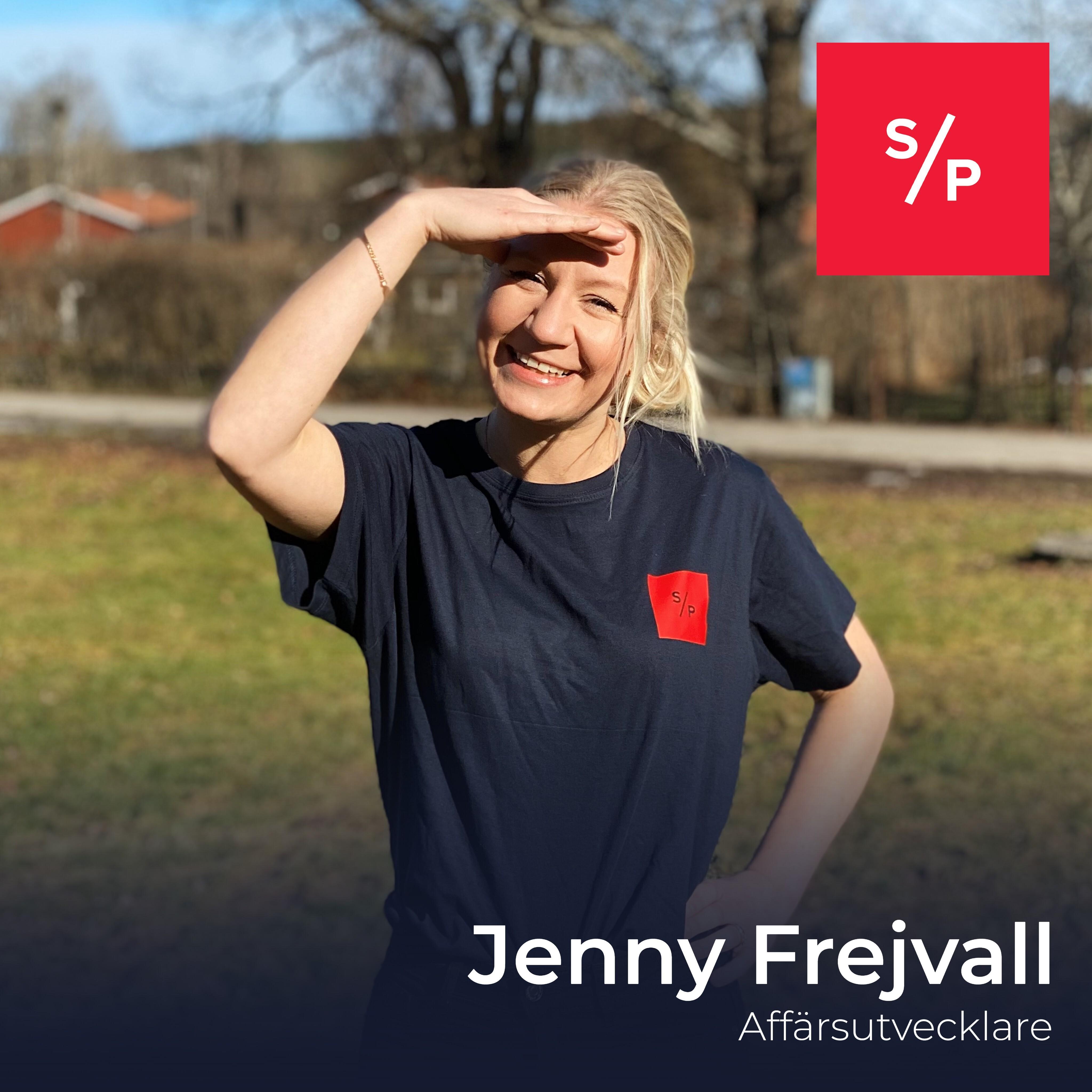 Fyra snabba med Jenny Frejvall
