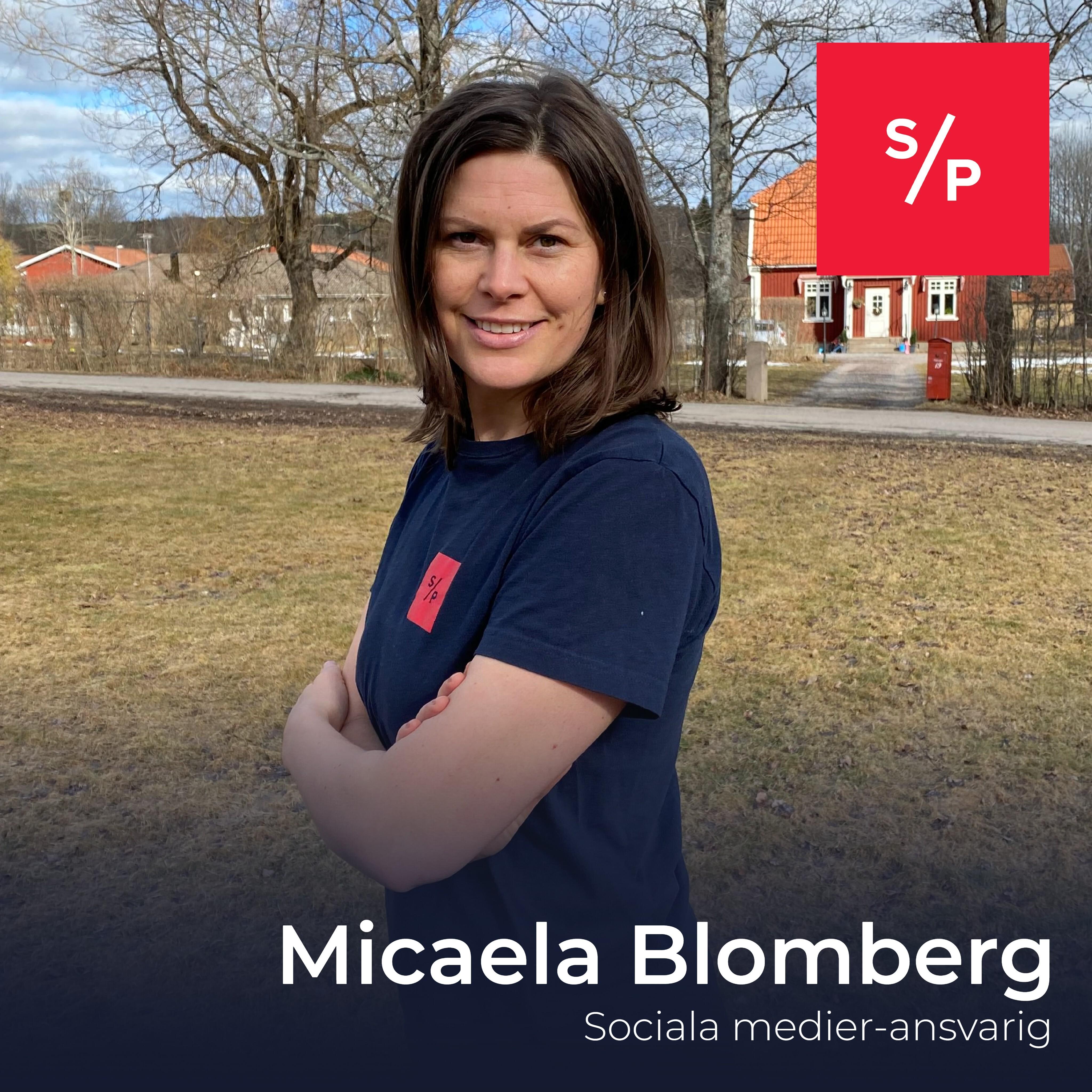 Fyra snabba med Micaela Blomberg