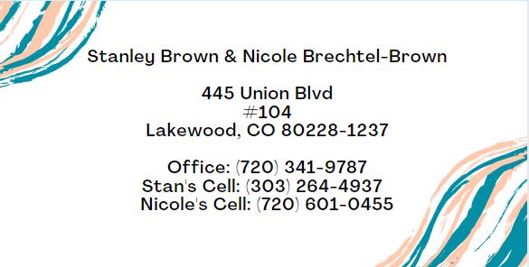 Stanley Brown & Nicole Brechtel-Brown