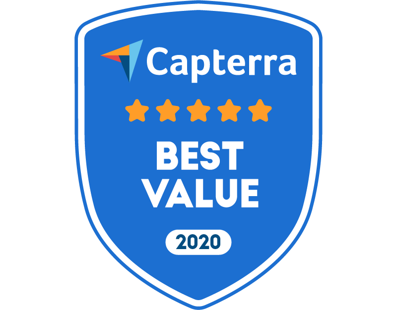 Tovuti Capterra Best Value 2020