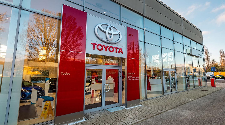 Todos Toyota pobočka exteriér