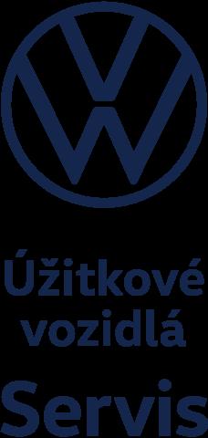 Volkswagen servis logo - úžitkové vozidlá