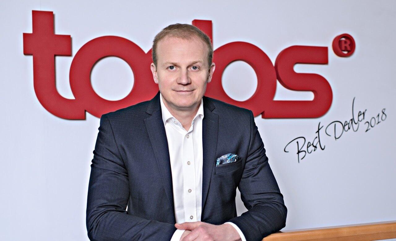 Štefan Slabej - riaditeľ pobočky Todos Košice