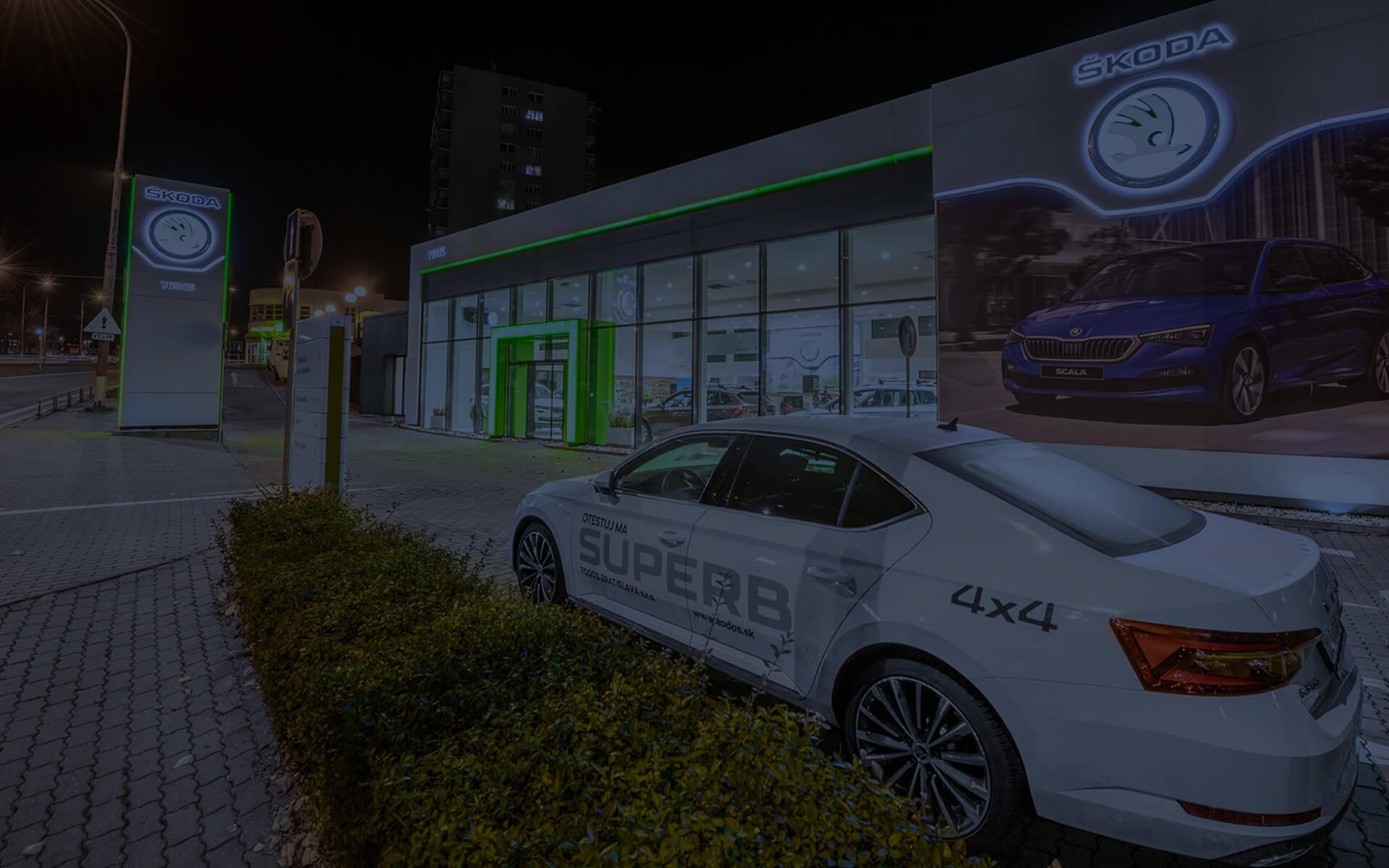 Predaj a servis vozidiel ŠKODA a VW