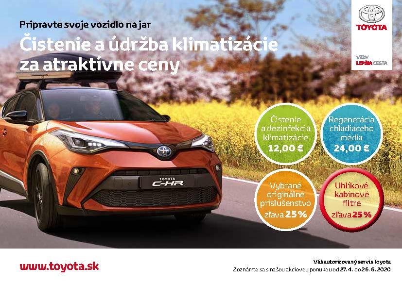Čistenie a údržba klimatizácie za atraktívne ceny v Todos Toyota.