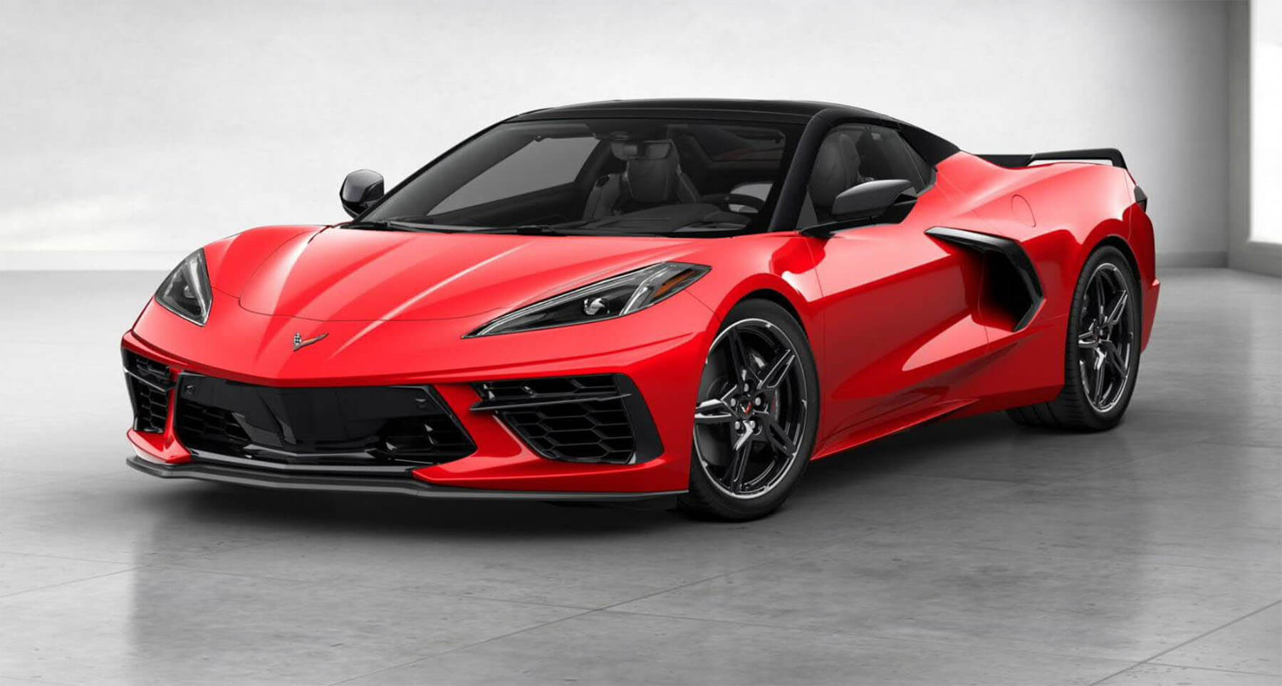 Nová Corvette Stingray Convertible