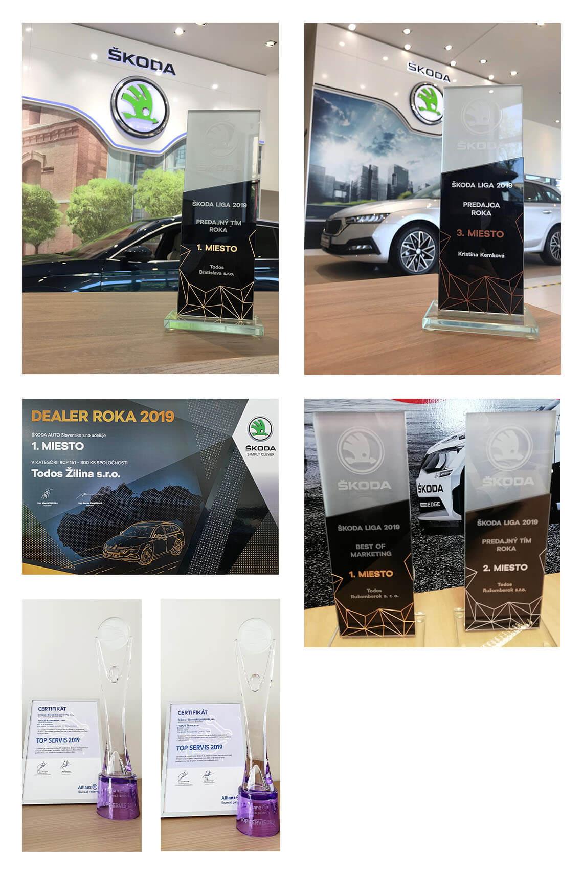 Úspechy a ocenenia spoločnosti Todos v roku 2019