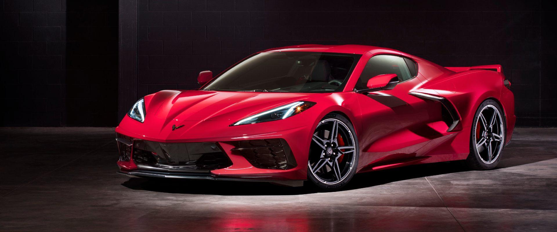 Nová Corvette C8 Stingray - príjem objednávok!