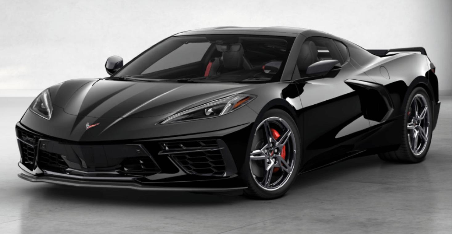 Corvette C8 Stingray Coupe Black
