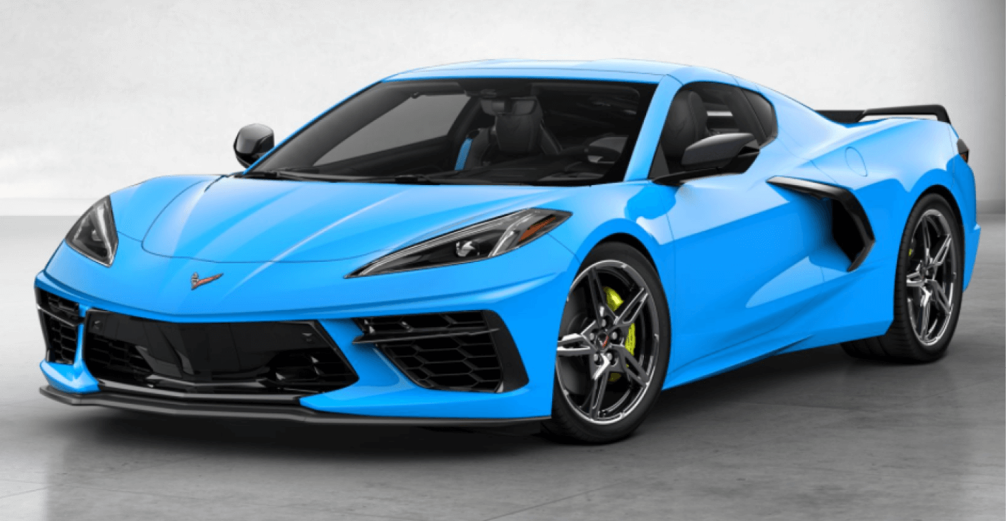 Corvette C8 Stingray Coupe Rapid Blue