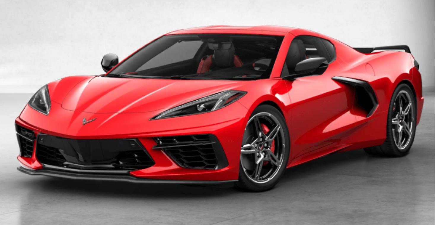 Corvette C8 Stingray Coupe Torch Red