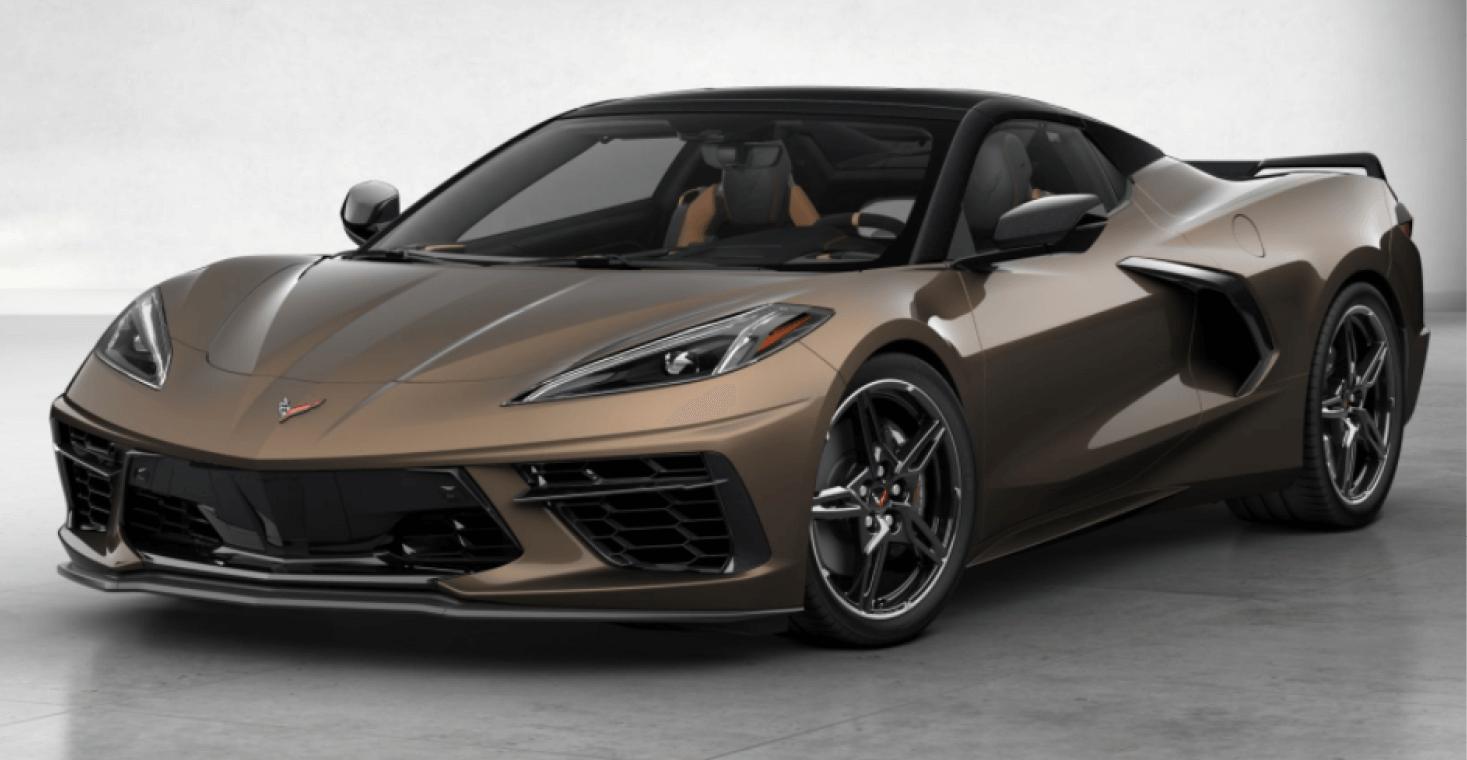 Corvette C8 Stingray Convertible Caffeine Brown Metallic