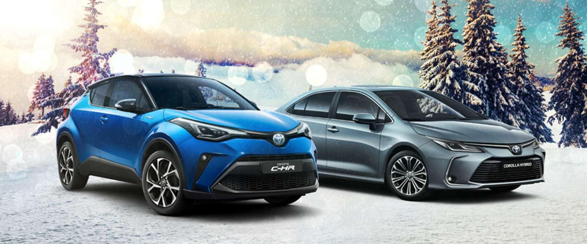 Vianočná ponuka od Toyoty