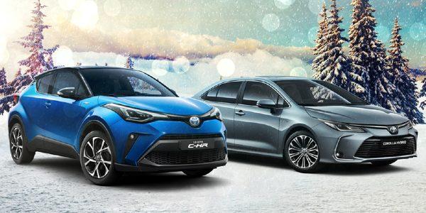 Vianočná ponuka Toyota