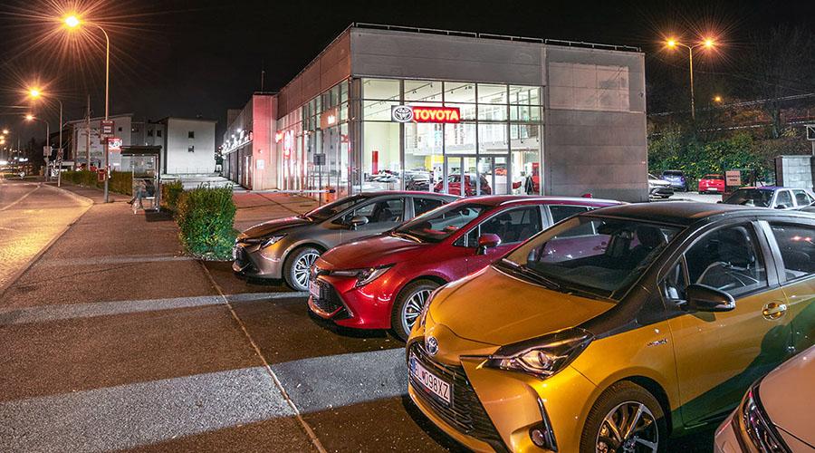 Pobočka Todos Toyota