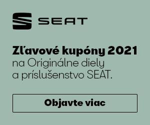 SEAT Zľavové kupóny 2021