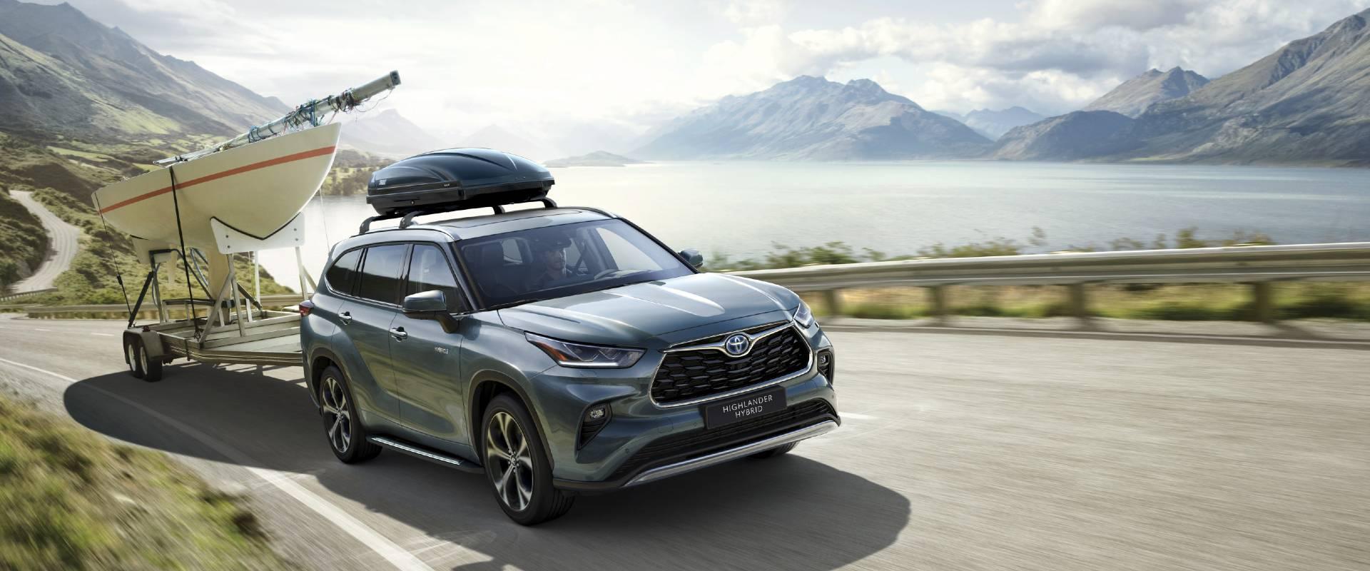 Nové modely Toyota
