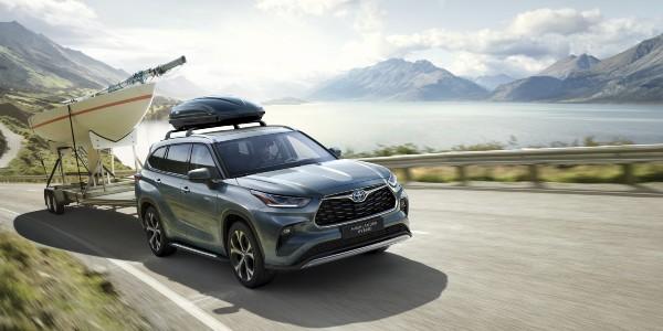 Nový model Toyota Highlander 2021