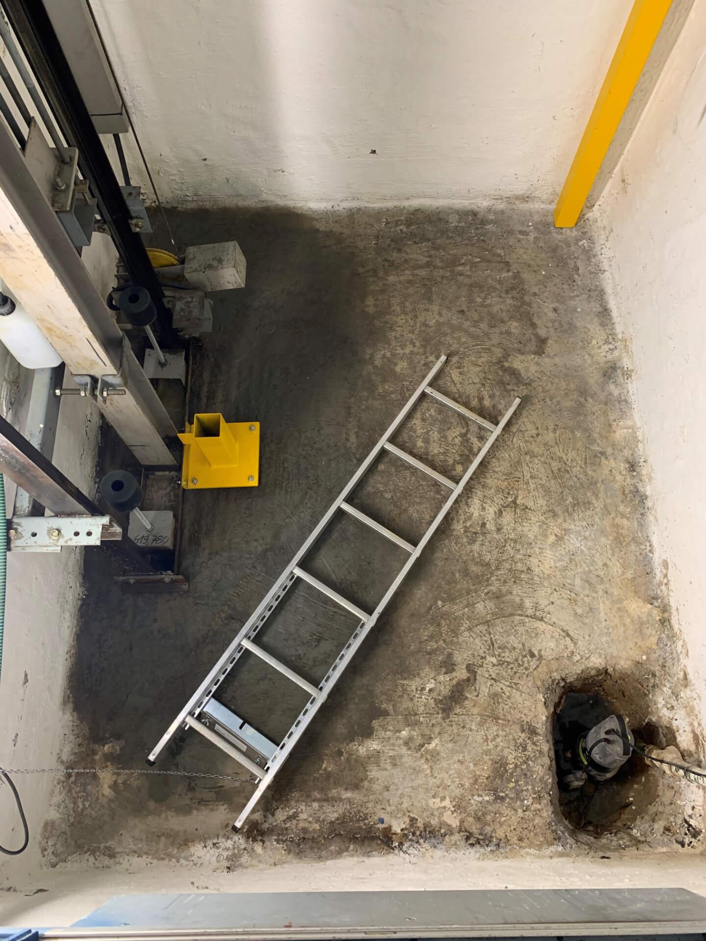 Lift Pit