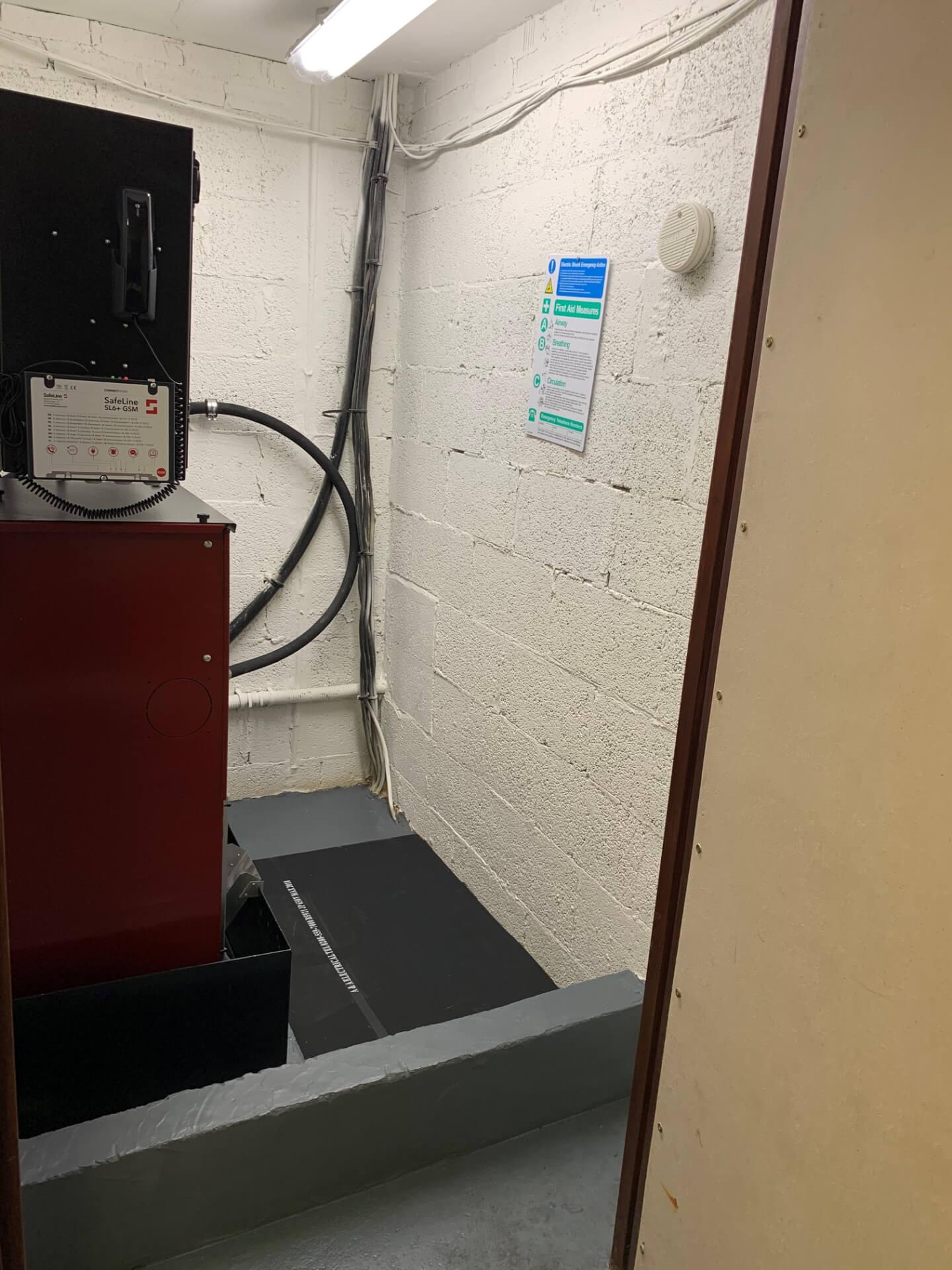 Lift Motor Room