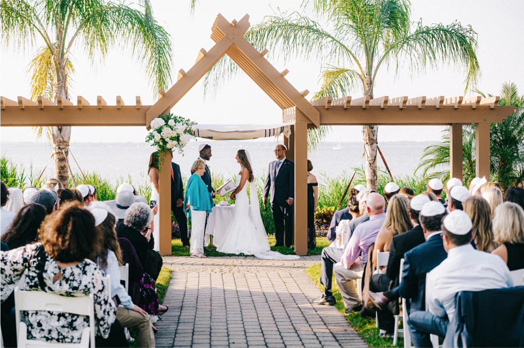 Summer Waterfront Wedding