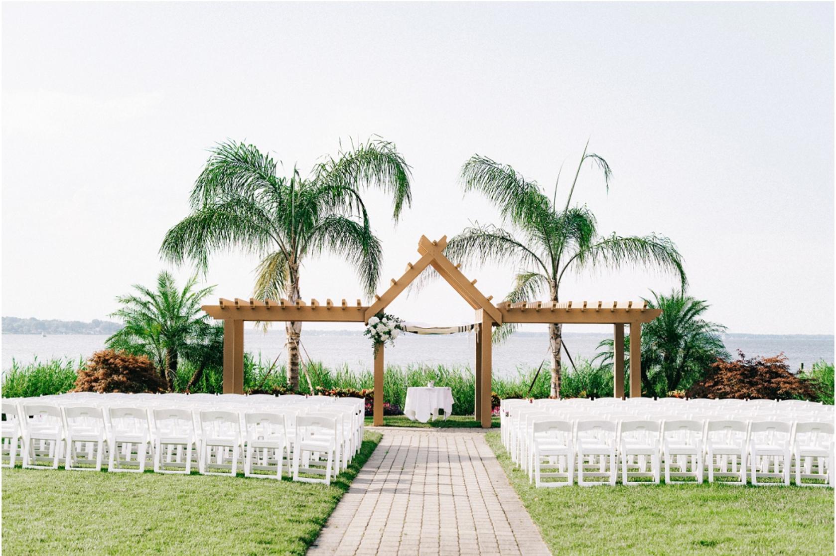 Summer Waterfront Wedding Venue
