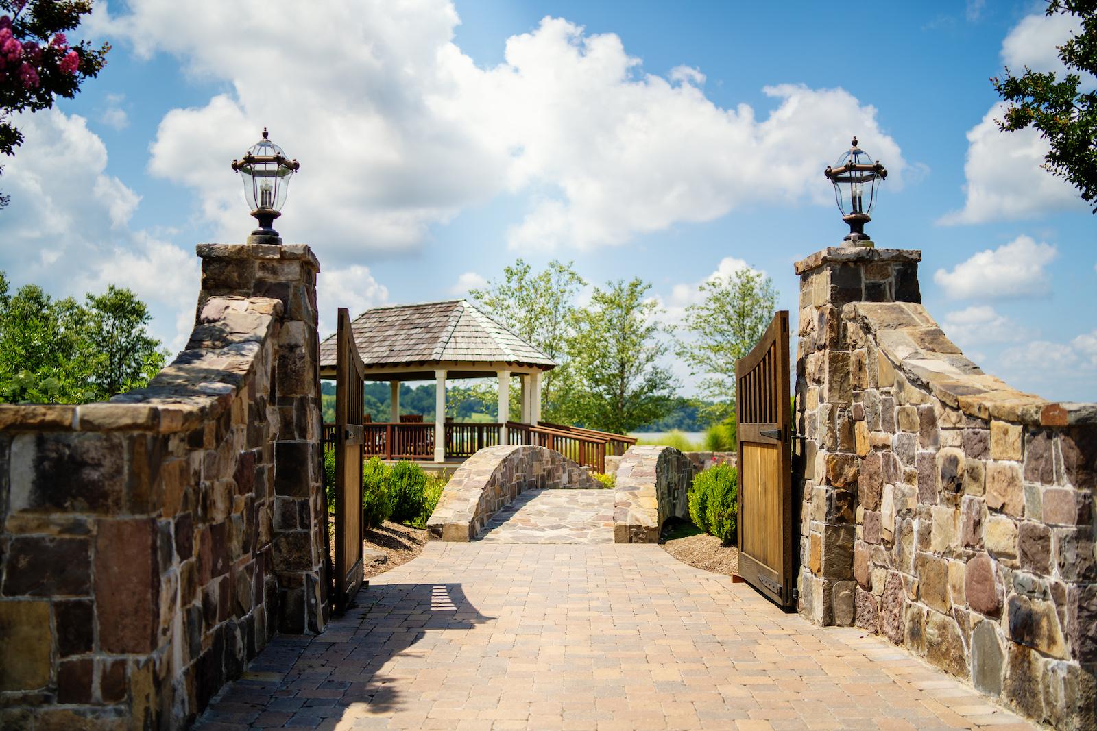 Herring Bay Garden Entrance