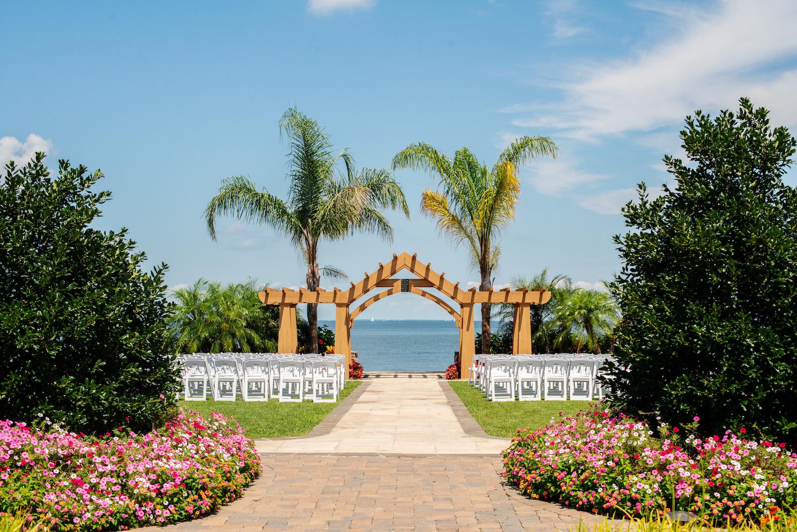 Herring Bay Garden Archway