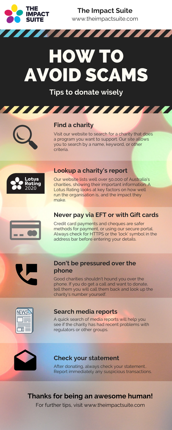Top tips when donating