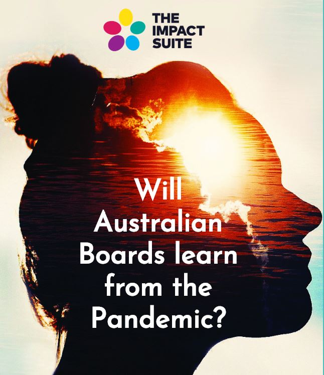 Will Australian Boards learn from the Pandemic?