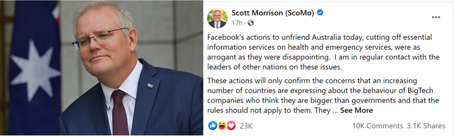 Does Australia really matter to BigTech?