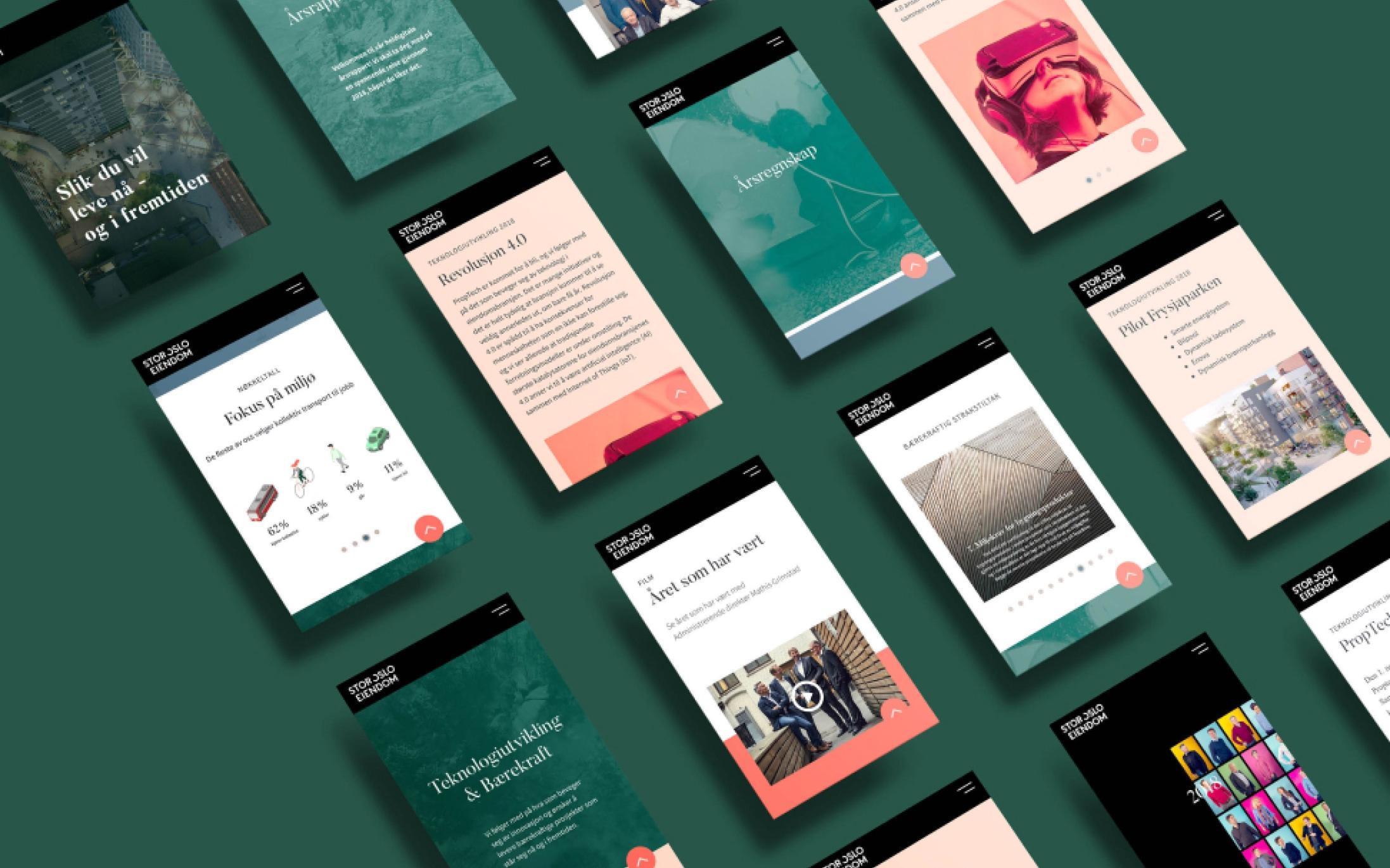 Stor-Oslo Eiendom nettside mobil versjon