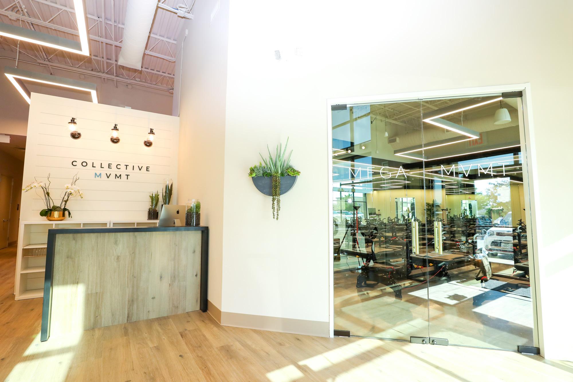 interior of the fitness studio