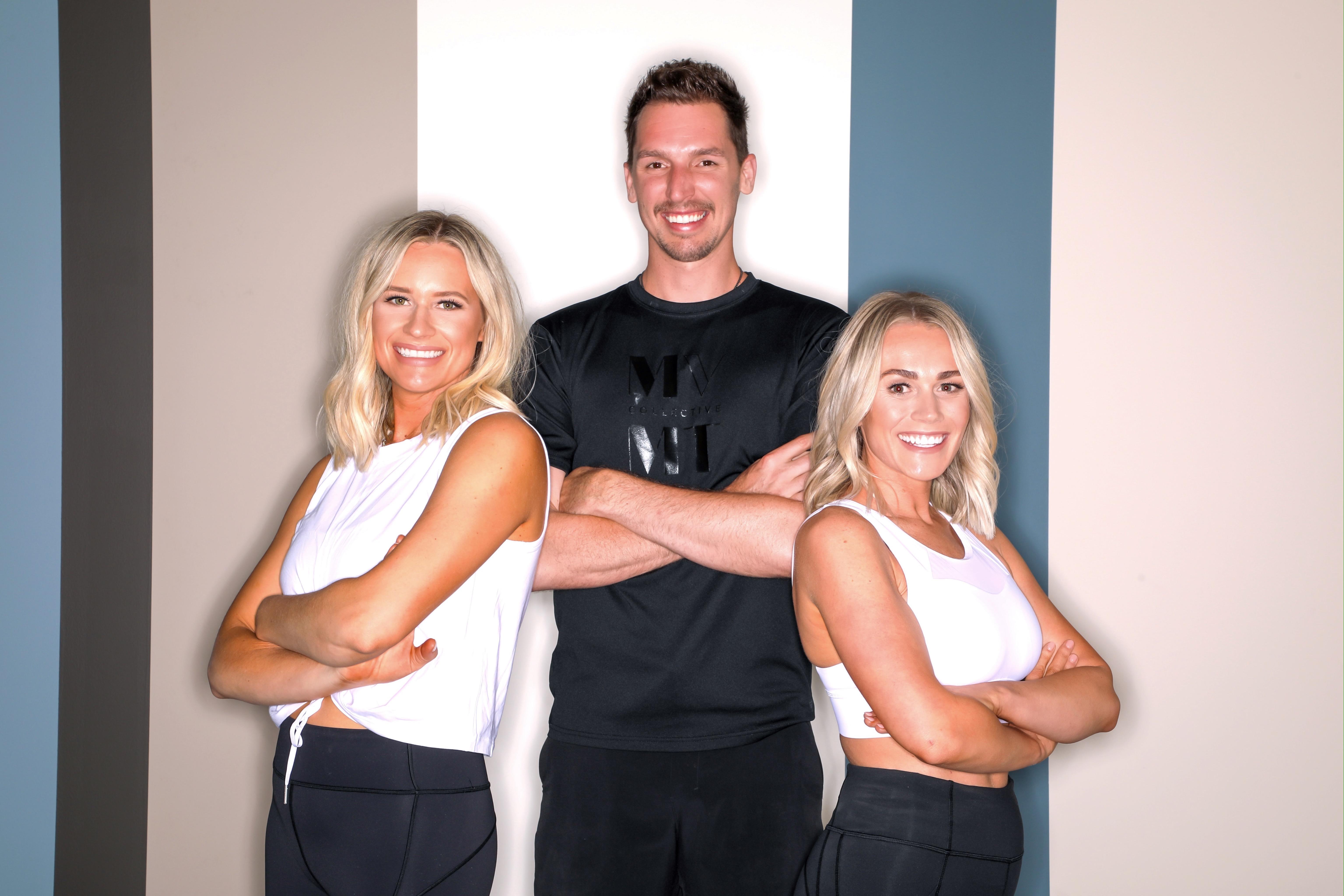 The fitness studio's staff