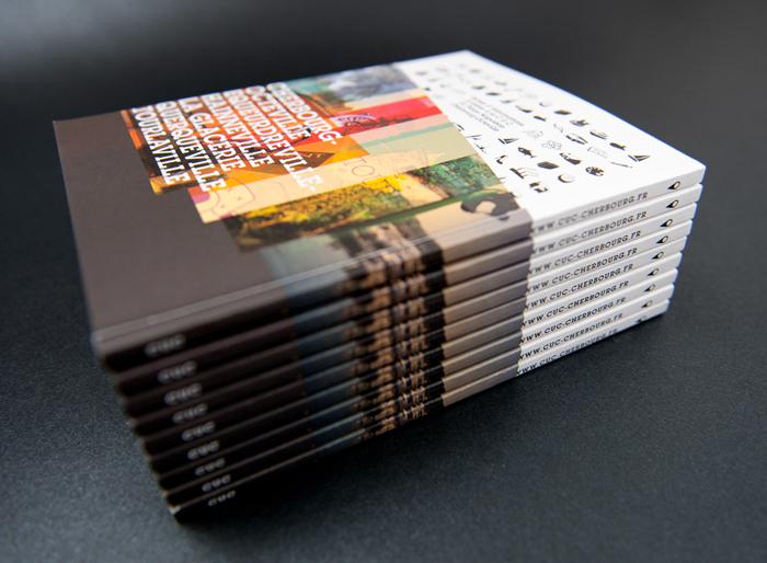 Communauté urbaine de Cherbourg — Public relations brochure