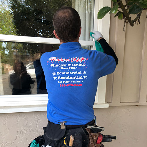 residential window cleaning in escondido