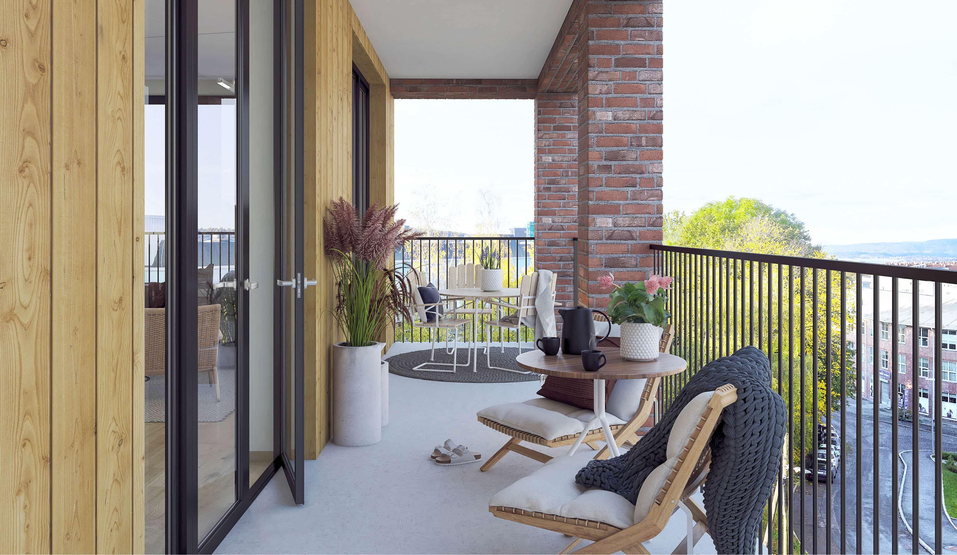 Malerhaugveien 25 balkong
