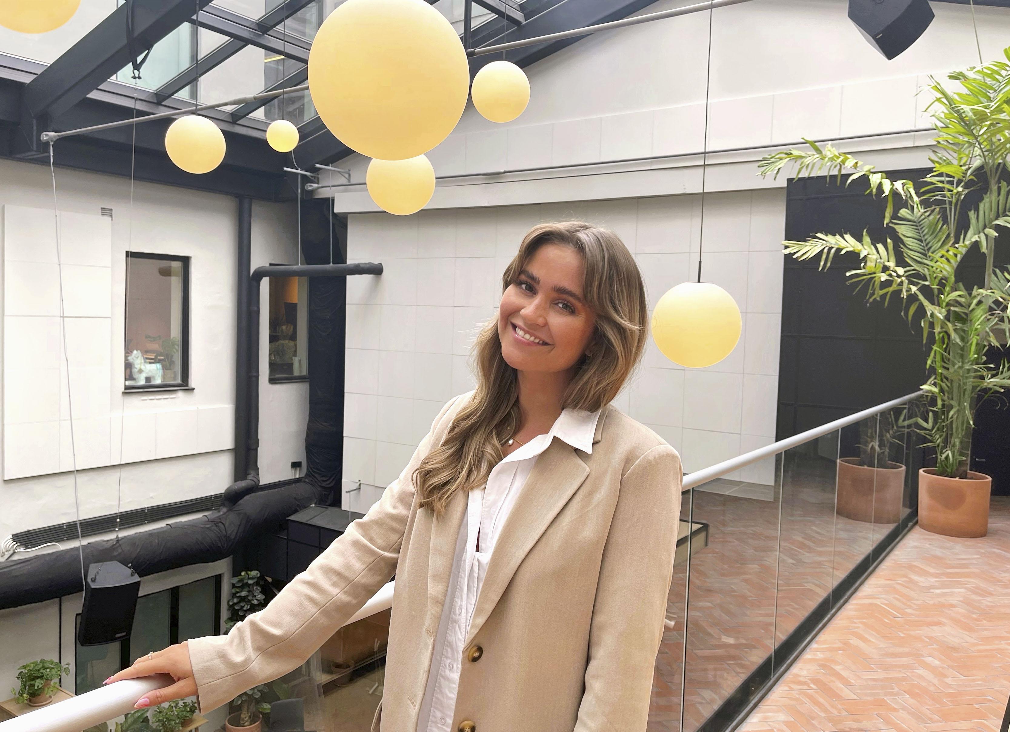 Ingrid søkte internship hos NXT - vi ønsker henne velkommen