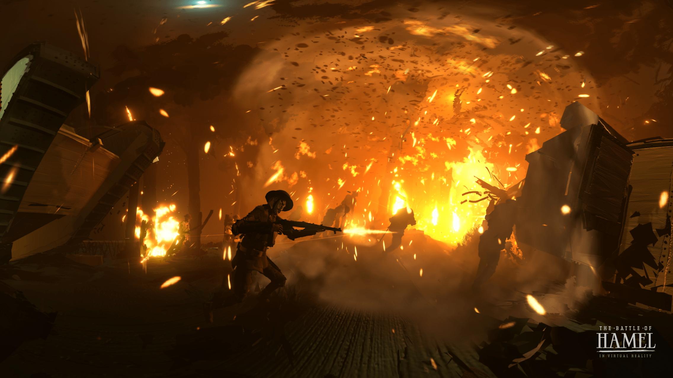 The Battle of Hamel VR Project Screenshot 02