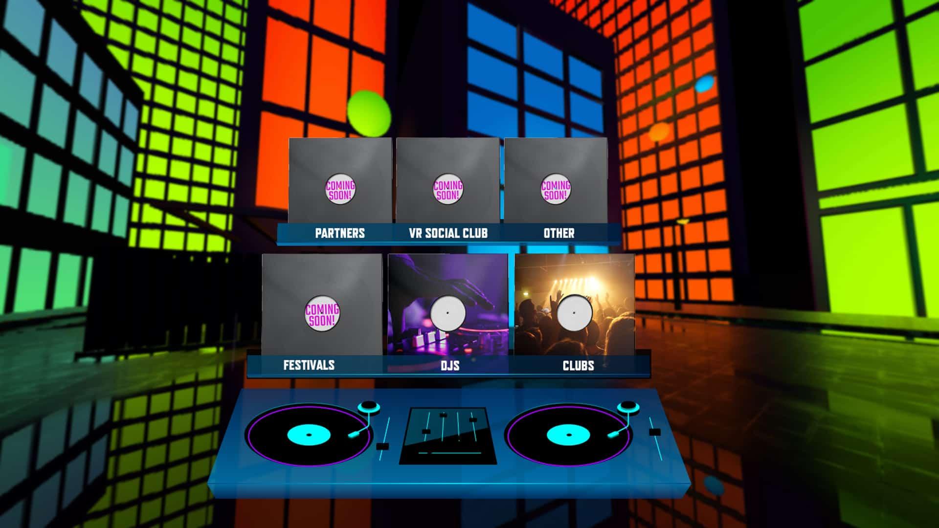 Central Station Records VR Screenshot