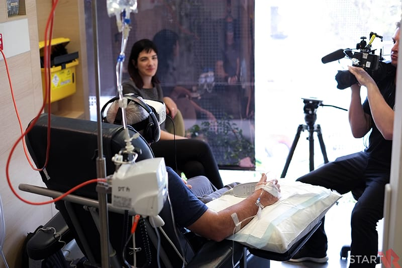 Chris O'Brien Lifehouse VR Therapy Trial Behind the Scenes 02