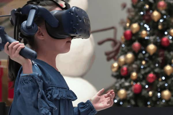Market City Candy Cane VR Fight Event Activation Photo 2