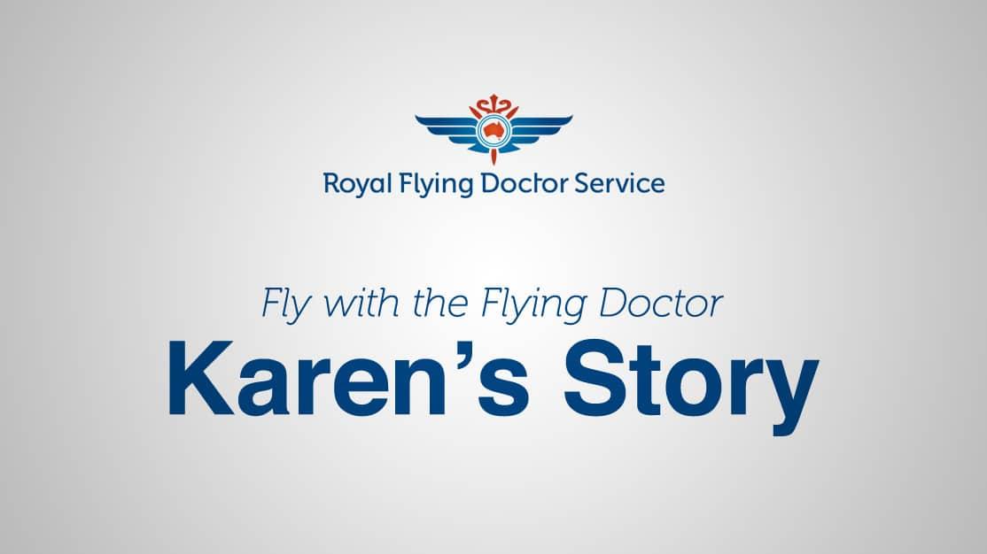 Royal Flying Doctors Service VR Menu Screen